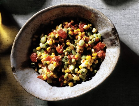 Succotash, photo courtesy of Epicurious