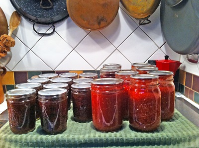 Chutney and Tomatoes