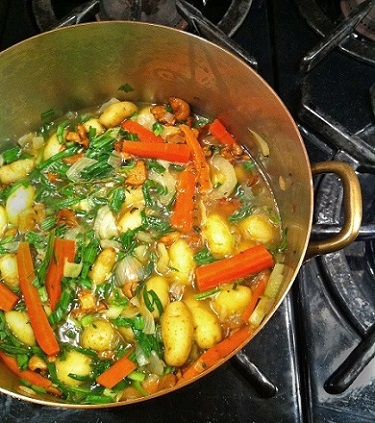 Rustic French Nabemono cooking