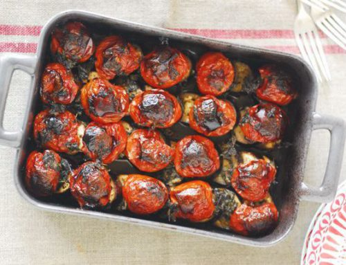 Rustic Eggplant-Tomato Bake