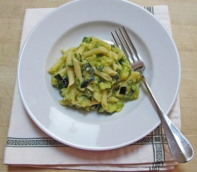 Pennete with Zucchini