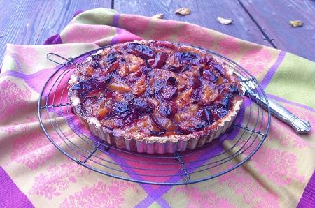 Plum-Pie-Zwetschgenkuchen