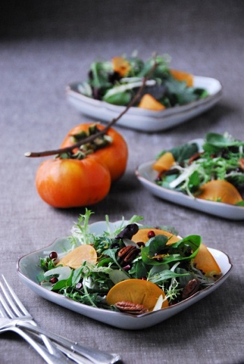 persimmon-pomegranate-pecan-salad-recipe