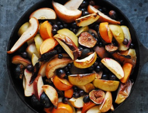 Roasted Autumn Fruits