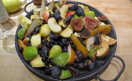 Roasted Autumn Fruits Raw
