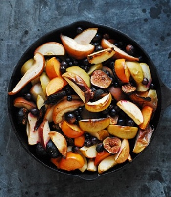 Roasted Autumn Fruits cooked