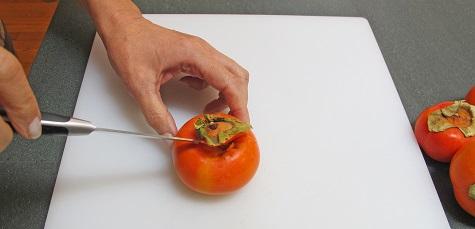 Coring persimmon