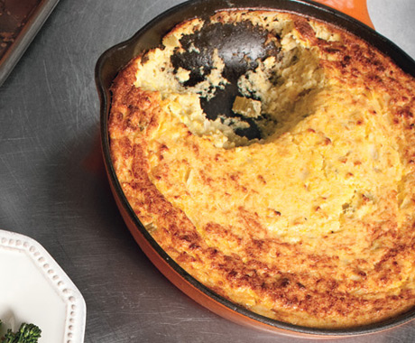 Corn Pudding, photo courtesy of Epicurious