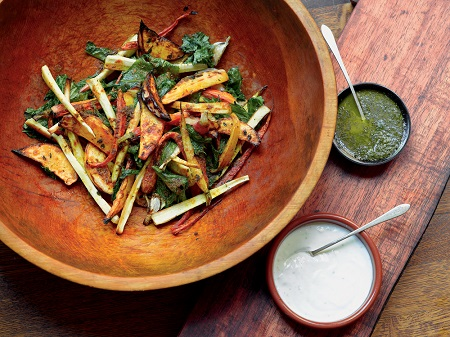Tumeric-Spiced Root Vegetables, Photo by Shimon and Tammar Photography