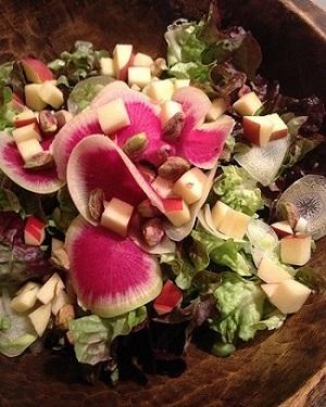 Radish salad Siena Farms