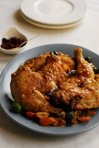 Chicken with Kumquats