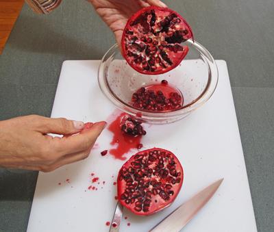 bloody pomegranates
