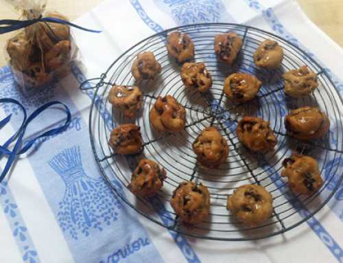 Caramel Date and Walnut Rolls