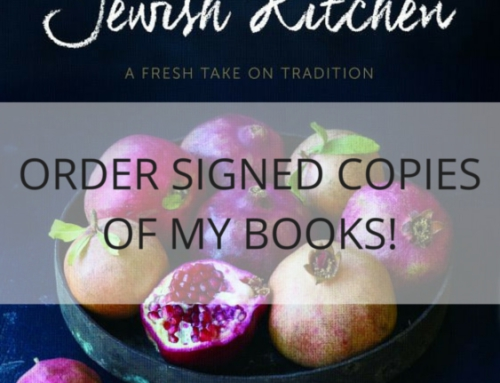 Order Signed Copies of My Cookbooks!