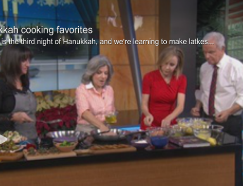 Hanukkah Cooking on Good Day LA with Akasha