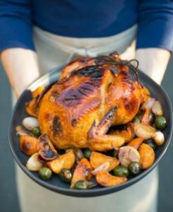 roast-chicken-tangerines-green-olives-silan
