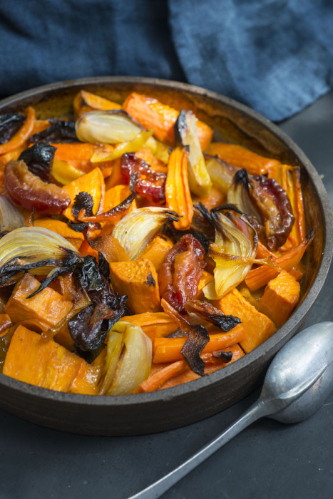 roasted-carrot-sweet-potato-tzimmes
