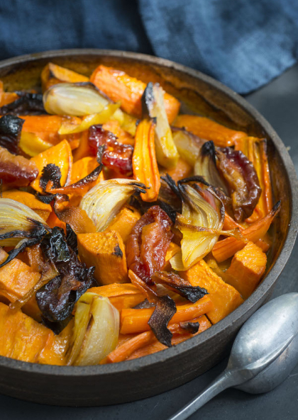 roasted-carrot-sweet-potato-tzimmes